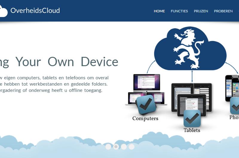 OverheidsCloud: een veilig Dropbox alternatief