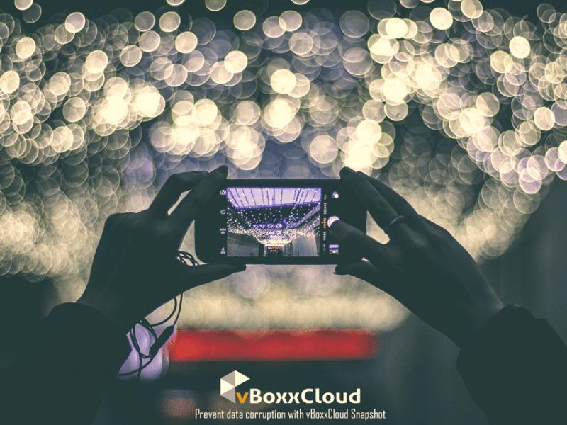 Hou je data veilig met vBoxxCloud Snapshot