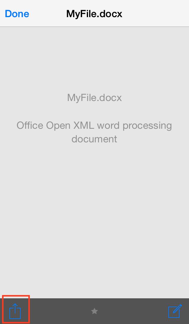 aanpassen van bestanden iOS - vBoxxCloud