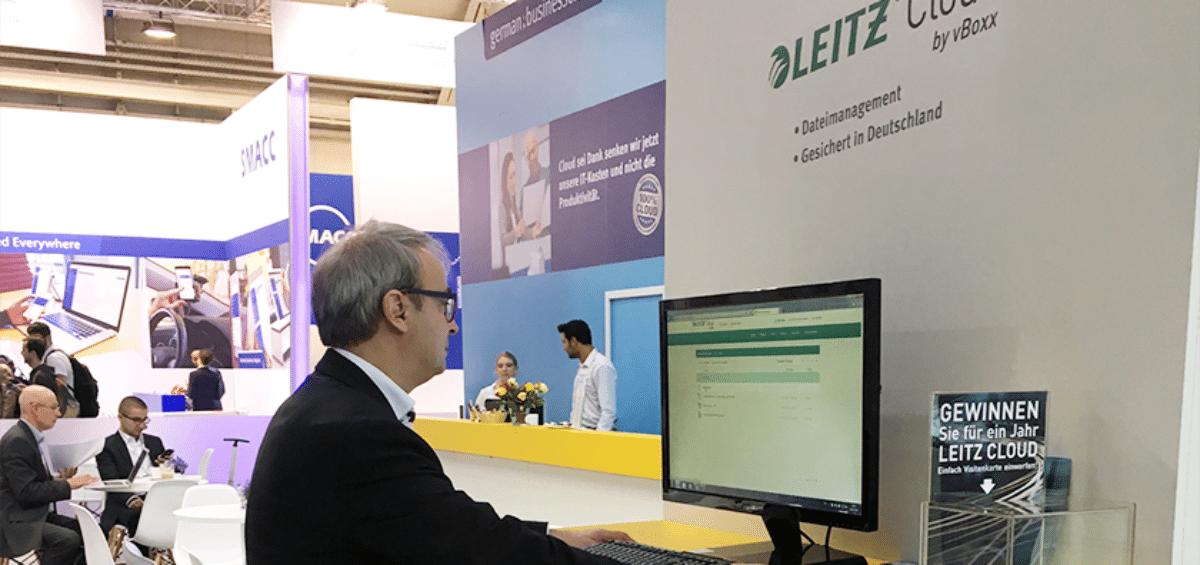 Leitz Cloud at CeBIT